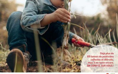 Collecte des pesticides