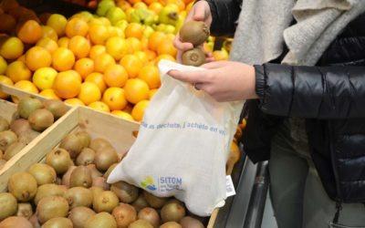 Réduire les emballages grâce aux sacs à vrac