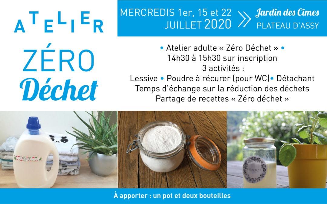Ateliers Zéro déchet